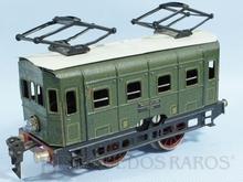 Brinquedo antigo Marklin Locomotiva Elétrica rodagem B Ferrovia Alemã Número RS12880 ano 1931 a 1941 Alimentação 20 Volts com Transformador Comprimento 18,00 cm