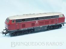 Brinquedo antigo Marklin Locomotiva Diesel Elétrica Classe BR 216 Rodagem B