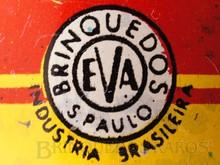 Brinquedos antigos -  - Logotipo da Fábrica de Brinquedos EVA Ano 1937