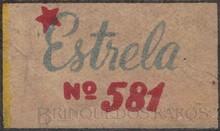 Brinquedos antigos -  - Estrela Logotipo impresso na caixa do jogo Corrida dos Automóveis Ano 1948