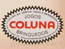 Brinquedos antigos -  - Coluna Logotipo até o término da sua produção Década de 1980