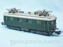 Brinquedo antigo Marklin Locomotiva Elétrica Classe Re4/4 Rodagem Bo