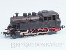 Brinquedo antigo Marklin Locomotiva Tanque a Vapor Classe BR 80 Rodagem C Ferrovia Alemã Número TM800 Classificação Koll