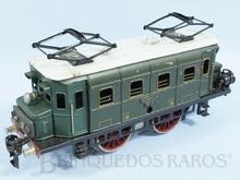 Brinquedo antigo Marklin Locomotiva Elétrica rodagem B Ferrovia Alemã Número RS66/12910 ano 1932 a 1954 Alimentação 20 Volts com Transformador Comprimento 24,00 cm