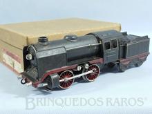 Brinquedo antigo Marklin Locomotiva a Vapor rodagem B Ferrovia Alemã número R66/12900 Caixa Original alimentação 20 Volts com Transformador ano 1931 até 1942 Comprimento 29,00 cm