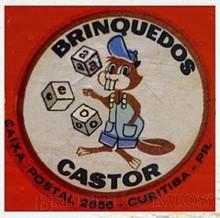 Brinquedos antigos -  - Logotipo Castor Indústria de Brinquedos de madeira Década de 1960