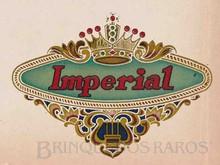 Brinquedos antigos -  - Brinquedos Imperial Logotipo-Etiqueta aplicado por Decalcomania Década de 1940