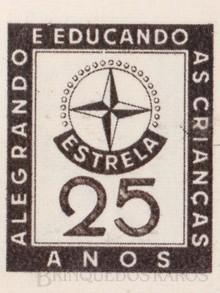 Brinquedos antigos -  - Estrela Logotipo comemorativo dos 25 anos da fábrica Ano 1962