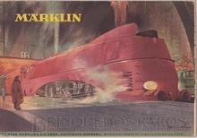 Brinquedo antigo Marklin Catálogo anos 1947 Edição em alemão com 32 páginas coloridas