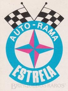Brinquedos antigos -  - Logotipo Estrela específico para os itens de Autorama Ano 1967