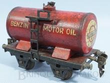 Brinquedo antigo Marklin Vagão Tanque Standard Benzin Motor Oil Ano 1932 a 1942 Número 1674 Comprimento 14,00 cm