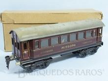 Brinquedo antigo Marklin Carro de Passageiros Mitropa Dormitório número 17530 Ano 1934 até 1954 Comprimento 25,00 cm