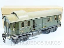 Brinquedo antigo Marklin Carro de Bagagens número 17540 Ano 1934 até 1954 Caixa Original Comprimento 25,00 cm