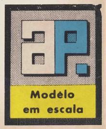 Brinquedos antigos -  - Fábrica Atma Pulista Logotipo impresso nas caixas dos Kits de montar Década de 1960
