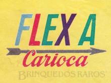 Brinquedos antigos -  - Logotipo Flexa Carioca Ano 1968