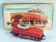 Brinquedo antigo Marklin Locomotiva Elétrica Classe BR E63 Rodagem C Ferrovia Alemã Número 3001 Classificação Koll