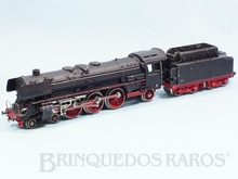 Brinquedo antigo Marklin Locomotiva a Vapor Classe BR 01 Rodagem 2`C1` Ferrovia Alemã Número F800 Classificação Koll