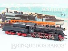 Brinquedo antigo Marklin Hamo Corrente Contínua Locomotiva a Vapor Classe BR 38 Rodagem 2`C Ferrovia Alemã Número 8398 Classificação Koll
