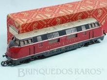 Brinquedo antigo Marklin Locomotiva Diesel Hidráulica Classe BR V200 Rodagem B