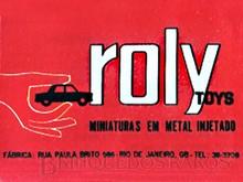 Brinquedos antigos -  - Logotipo Roly Toys impresso no Catálogo 1970