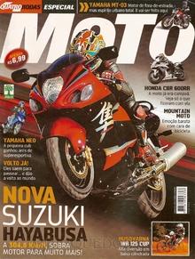Brinquedo antigo Reportagem Revista Quatro Rodas Especial Moto Julho de 2008