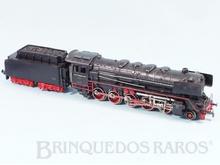 Brinquedo antigo Marklin Locomotiva a Vapor Classe BR 44 Rodagem 1`E Ferrovia Alemã Número 3027 Classificação Koll