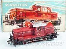 Brinquedo antigo Marklin Locomotiva Diesel Hidráulica Classe BR V60 Rodagem C Ferrovia Alemã Número 3065 Classificação Koll