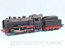 Brinquedo antigo Marklin Locomotiva a Vapor Classe BR 24 Rodagem C Ferrovia Alemã Número RM800 Classificação Koll