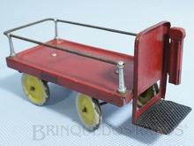 Brinquedo antigo Marklin Carrinho Elétrico de Estação para transporte de Bagagens Ano 1935 a 1942 Número 2686 Comprimento 14,00 cm