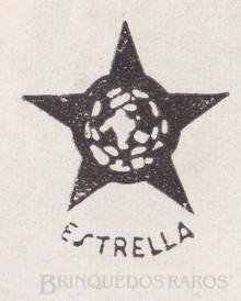 Brinquedos antigos -  - A Fábrica de Brinquedos Estrela fundada em 1937 teve, aproximadamente 19 Logotipos, todos com o mesmo tema; a estrela. Esse fato demonstra a importância da fábrica e de sua verba publicitária. O Logotipo abaixo é considerado o primeiro e é por volta de 1937