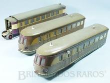 Brinquedo antigo Marklin Automotriz Diesel Elétrica Número TW 66/12940/3 Ano 1937 a 1942 Alimentação 20 Volts com Transformador