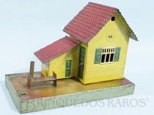 Brinquedo antigo Marklin Casa do Guarda de Linha Ano 1935 a 1942 Número 2162 Altura 11,00 cm