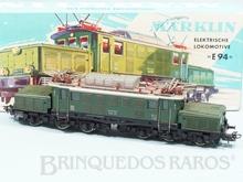 Brinquedo antigo Marklin Locomotiva Elétrica Biarticulada Classe BR E94 Rodagem Co`Co` Ferrovia Alemã Número 3022 Classificação Koll
