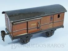 Brinquedo antigo Marklin Carro de Bagagens Ano 1933 a 1954 Número 1722/0 Comprimento 18,00 cm