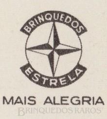 Brinquedos antigos -  - Estrela Logotipo Ano 1965