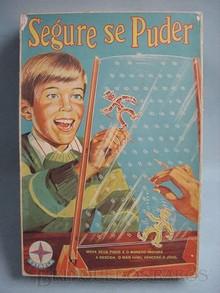 Brinquedos antigos -  - Caixa do Jogo Segure se Puder fabricado pela Estrela Brasil Década de 1970