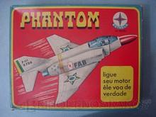 Brinquedos antigos -  - Caixa do Avião Phanton fabricado pela Estrela na década de 1970