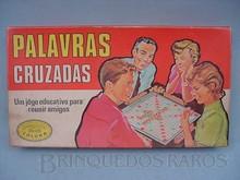 Brinquedos antigos -  - Caixa do Jogo Palavras Cruzadas fabricado pela Coluna Brasil na década de 1960