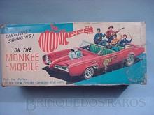 Brinquedos antigos -  - Caixa do Carro dos Monkees Monkeemobille Fabricado pela Aoshin Japão na década de 1960