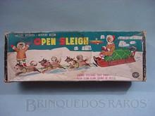 Brinquedos antigos -  - Caixa do Trenó Open Sleigh fabricado pela Modern Toys Japão na década de 1970