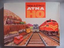 Brinquedos antigos -  - Caixa do Trem Elétrico Atma Brasil fabricado na década de 1970