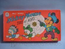 Brinquedos antigos -  - Caixa do Jogo de Tiro ao Alvo do Mickey Walt Disney fabricado pela Estrela na década de 1960