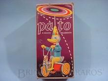 Brinquedos antigos -  - Caixa do Brinquedo Pato Malabarista fabricado pela Estrela Brasil na década de 1970