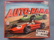 Brinquedos antigos -  - Caixa do Autorama Super Pista fabricado pela Estrela Brasil Datado 1968