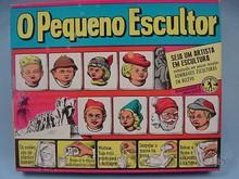 Brinquedos antigos -  - Caixa do Conjunto Pequeno Escultor fabricado em 1965 pela Guaporé Brasil Trabalho assinado pelo artista Kraus