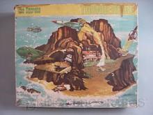 Brinquedos antigos -  - Caixa do Brinquedo Ilha Secreta Thunderbird fabricado pela Trol Brasil em 1968