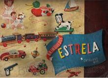 Brinquedos antigos -  - Catalogo 1948-1949 da Fábrica de Brinquedos Estrela, Brasil