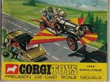 Brinquedos antigos -  - Catálogo 1969 da Fábrica Corgi Toys