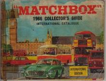 Brinquedos antigos -  - Catálogo 1966 da Fábrica Matchbox, Inglaterra