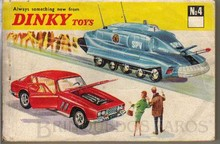 Brinquedos antigos -  - Catálogo 1968 da Fábrica Dink Toys, Inglaterra
